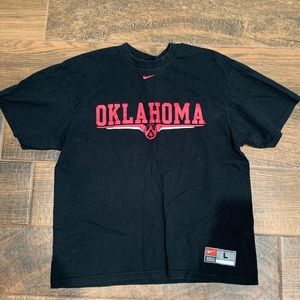 Nike University of Oklahoma Vintage Football Tee